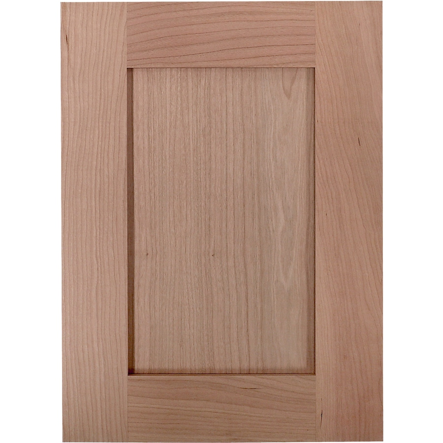 Surfaces Carlisle 15-in x 11-in Cherry Unfinished Cherry Shaker Cabinet Sample