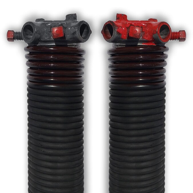 Dura Lift 0 234 In X 2 In Left And Right Wound 2 Pack Brown Steel Garage Door Torsion Spring In The Garage Door Parts Hardware Department At Lowes Com
