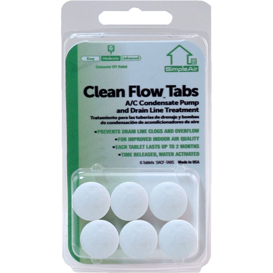 SimpleAir 6-Pack Clean Flow AC Tabs