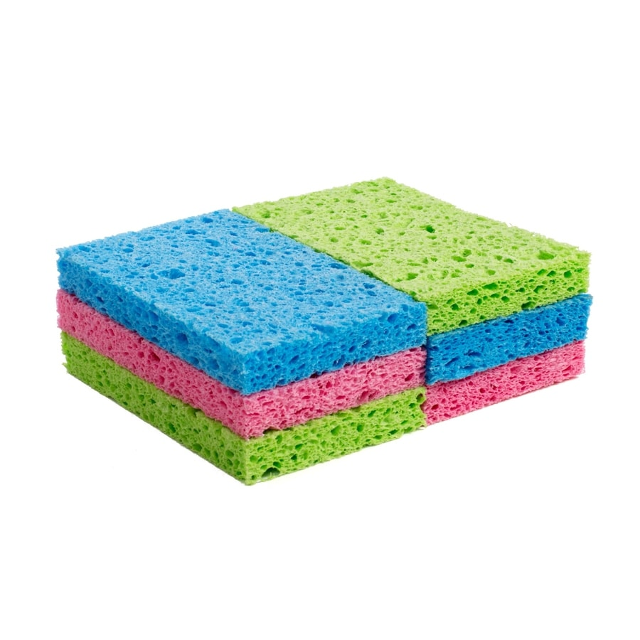 Style Selections 6-Pack Cellulose Sponge