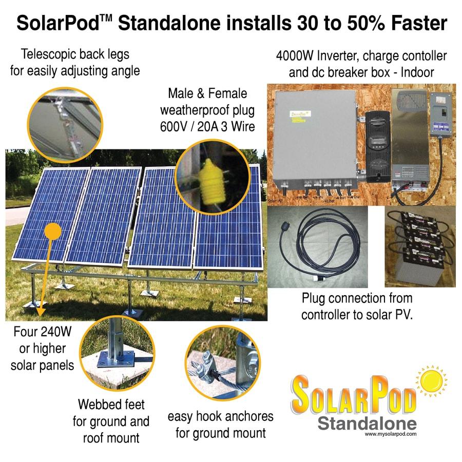 Shop Solarpod Portable Solar Power Kit At Lowes Com