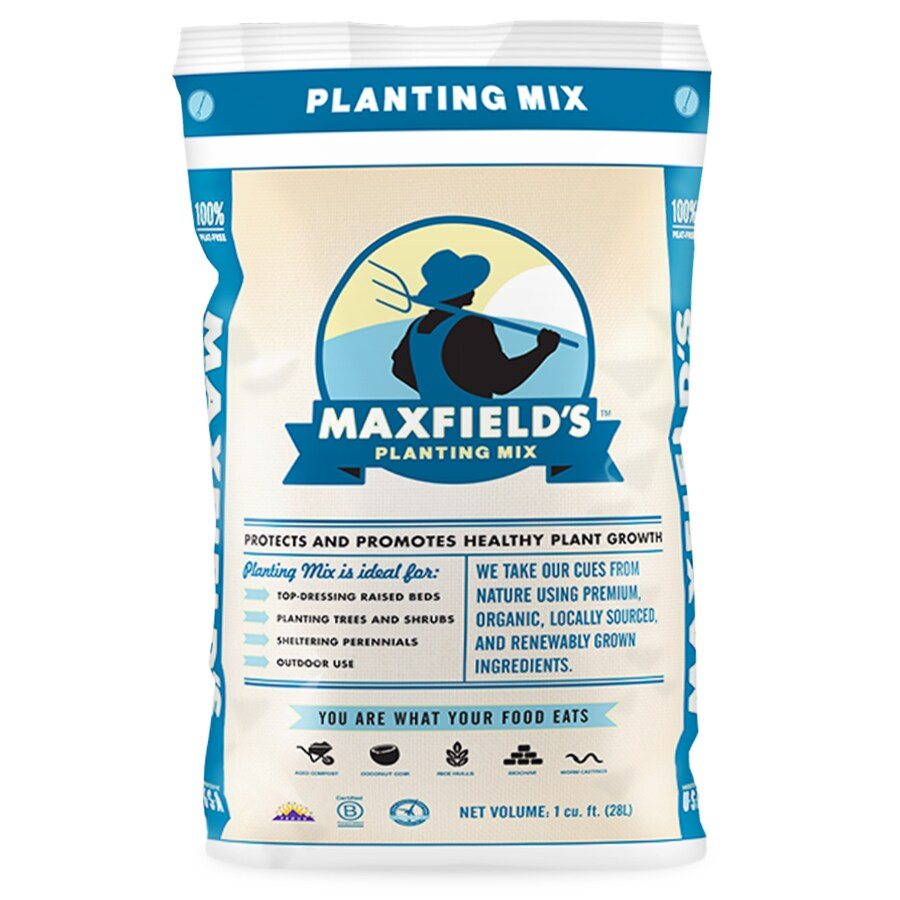 Maxfield's Planting Mix 1-cu ft Organic Flower and Vegetable Garden Soil