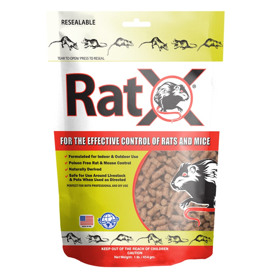 RatX Indoor/Outdoor Rodent Poison Bait for Rats