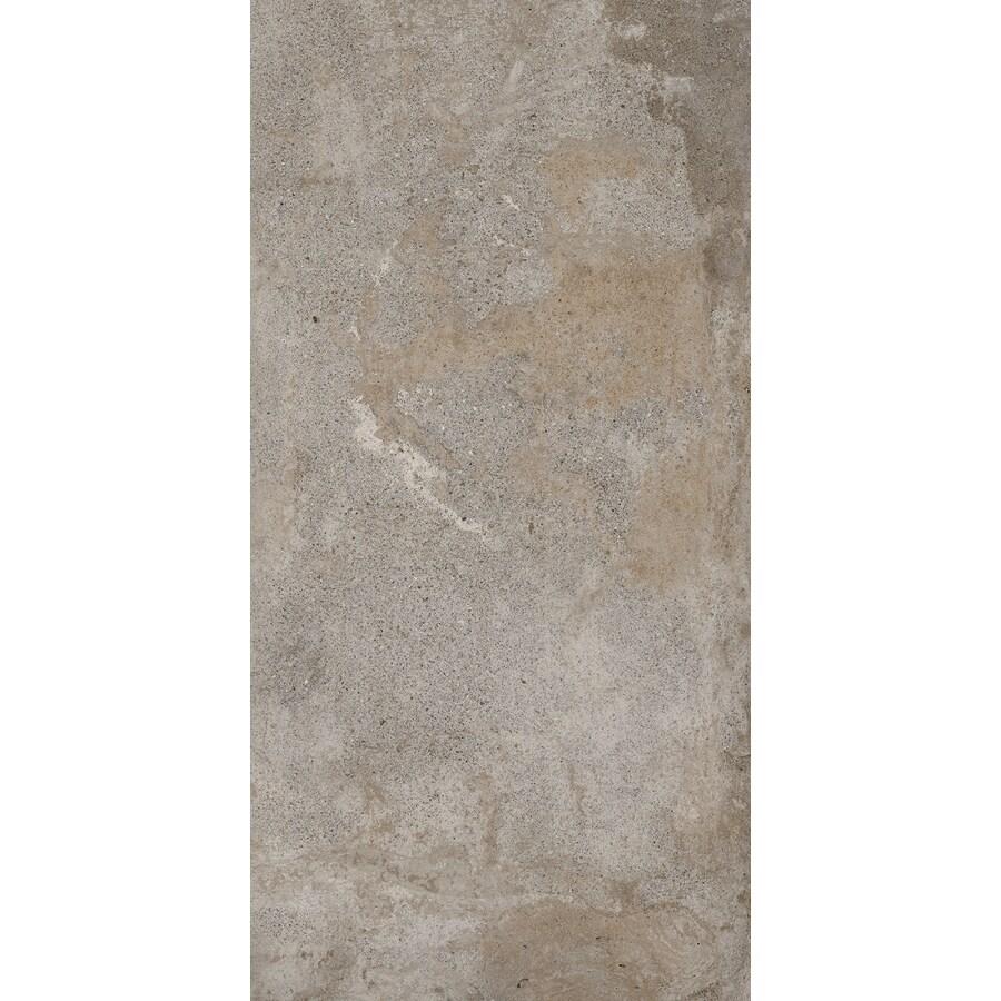 FLOORS 2000 Bridgeport 6-Pack Summer Porcelain Floor and Wall Tile (Common: 12-in x 24-in; Actual: 23.63-in x 11.81-in)