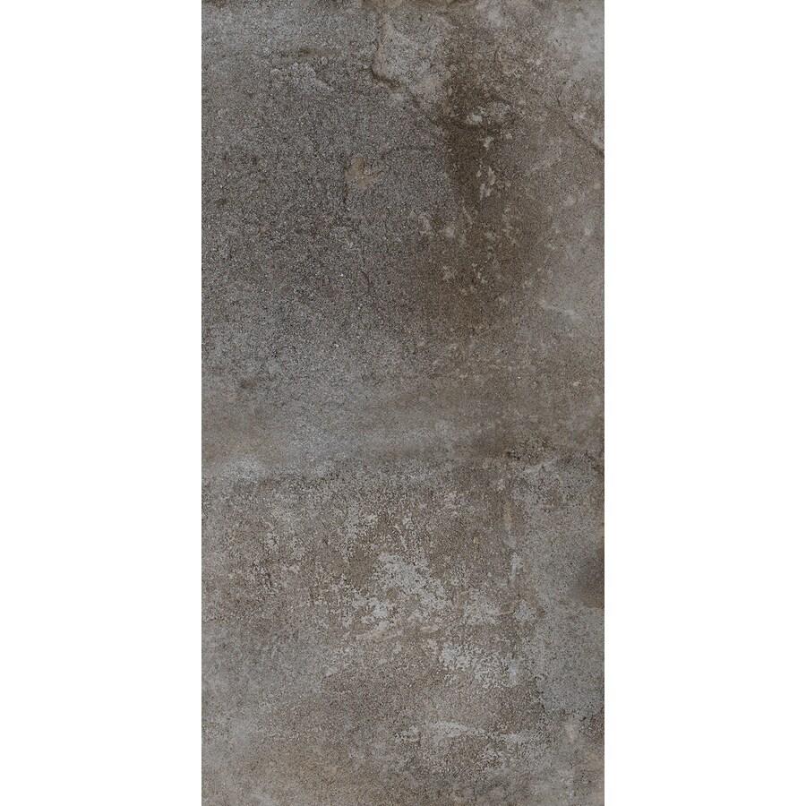 FLOORS 2000 Bridgeport 6-Pack Winter Porcelain Floor and Wall Tile (Common: 12-in x 24-in; Actual: 23.63-in x 11.81-in)