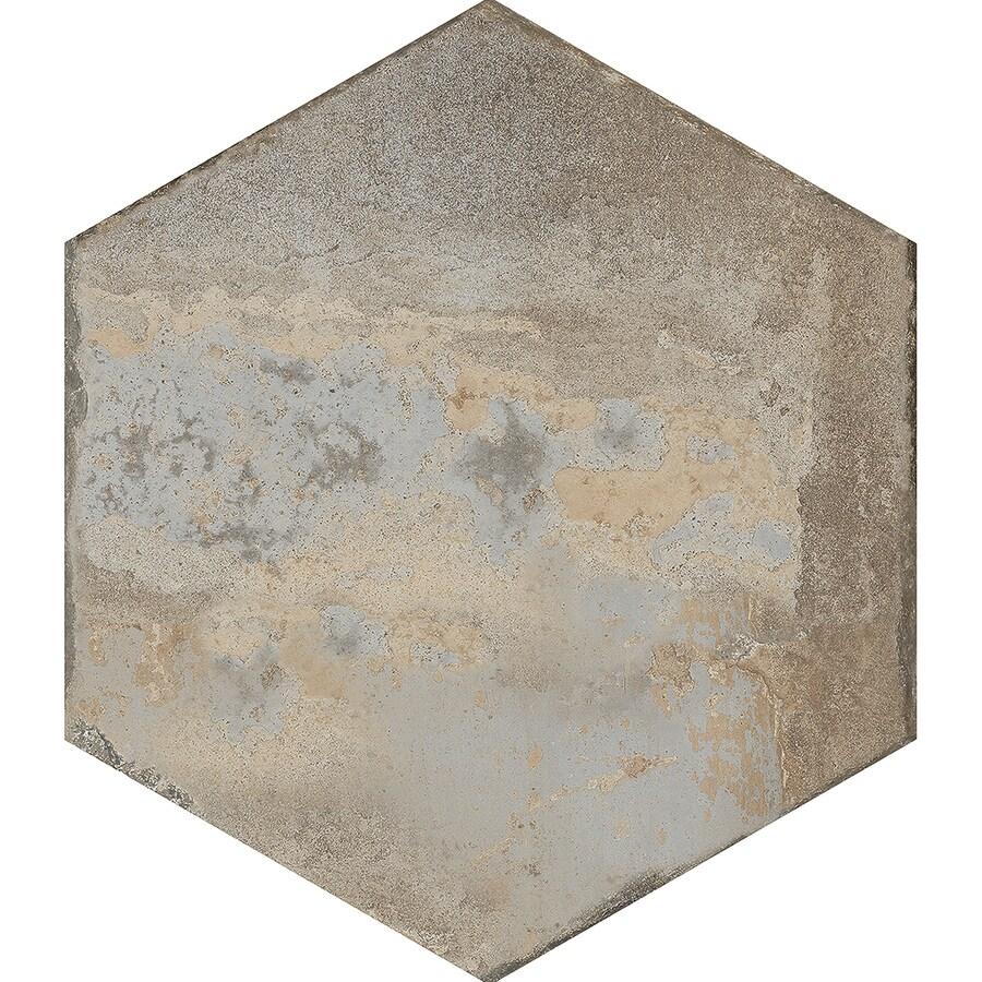 FLOORS 2000 Bridgeport 8-Pack Winter Porcelain Floor and Wall Tile (Common: 17-in x 17-in; Actual: 17.75-in x 15.25-in)
