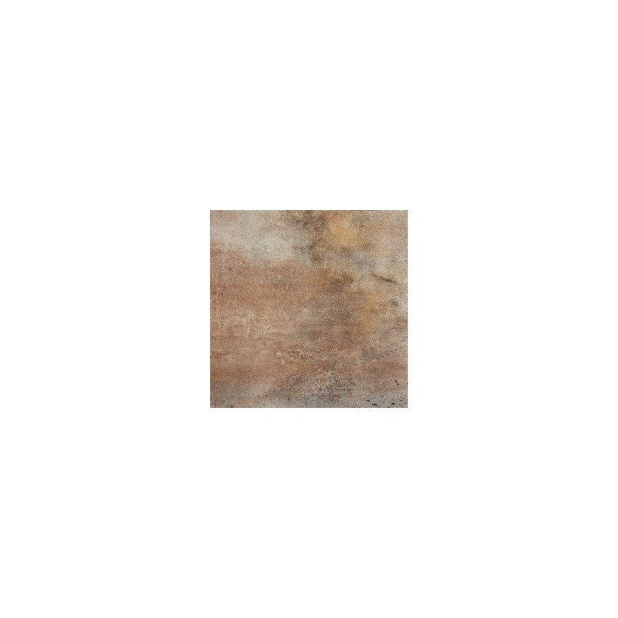 FLOORS 2000 Iron 11-Pack Brown Porcelain Floor and Wall Tile (Common: 13-in x 13-in; Actual: 12.92-in x 12.92-in)