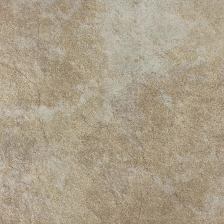 FLOORS 2000 Delhi 7-Pack Beige Porcelain Floor and Wall Tile (Common: 18-in x 18-in; Actual: 17.72-in x 17.72-in)