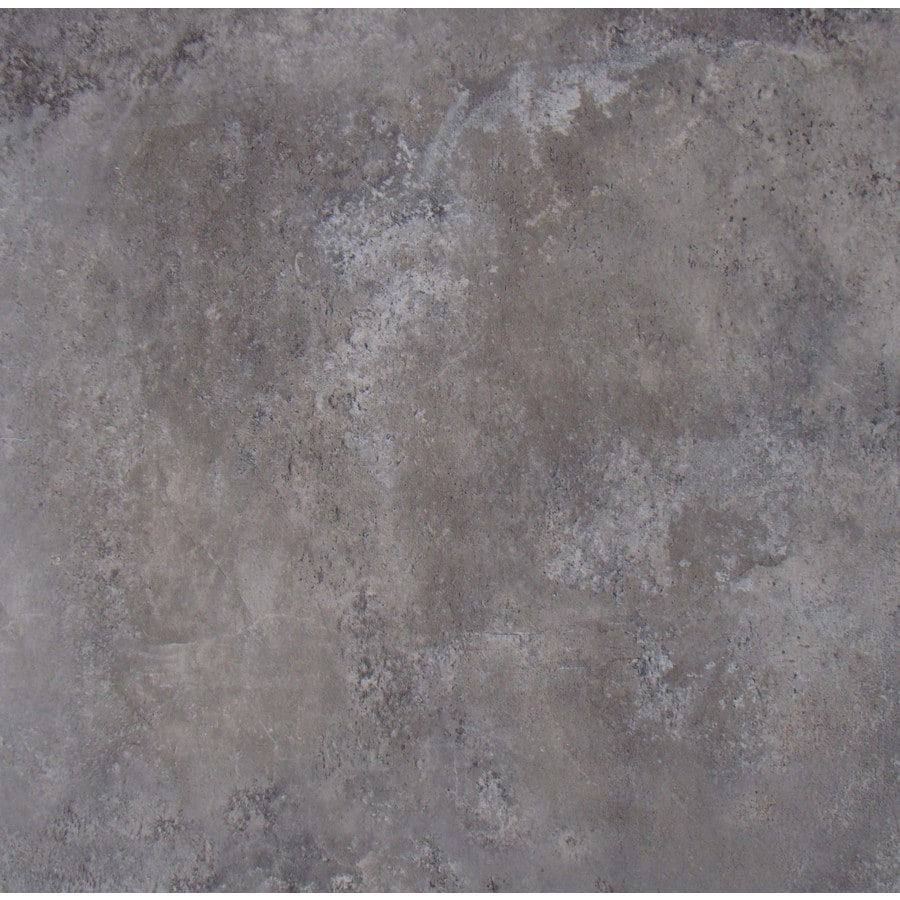 FLOORS 2000 7-Pack Altamira Fume Glazed Porcelain Indoor/Outdoor Floor Tile (Common: 18-in x 18-in; Actual: 17.72-in x 17.72-in)