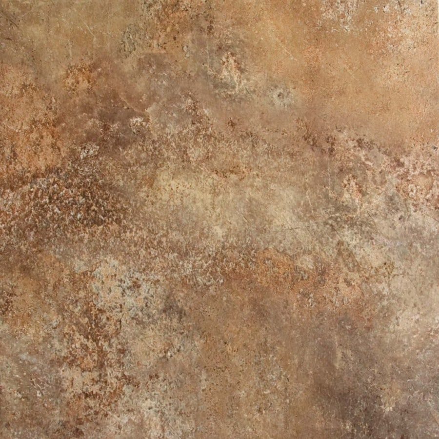 FLOORS 2000 11-Pack Altamira Lava Glazed Porcelain Indoor/Outdoor Floor Tile (Common: 13-in x 13-in; Actual: 12.92-in x 12.92-in)