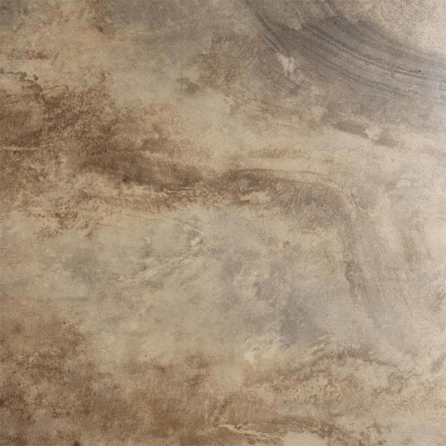 FLOORS 2000 Jungle 11-Pack Moka Porcelain Floor and Wall Tile (Common: 13-in x 13-in; Actual: 12.92-in x 12.92-in)