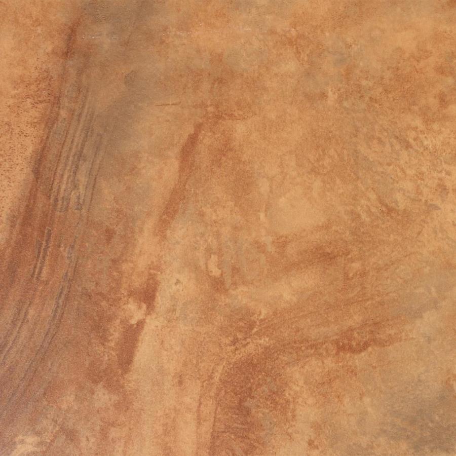 FLOORS 2000 7-Pack Jungle Sunset Glazed Porcelain Indoor/Outdoor Floor Tile (Common: 18-in x 18-in; Actual: 17.72-in x 17.72-in)