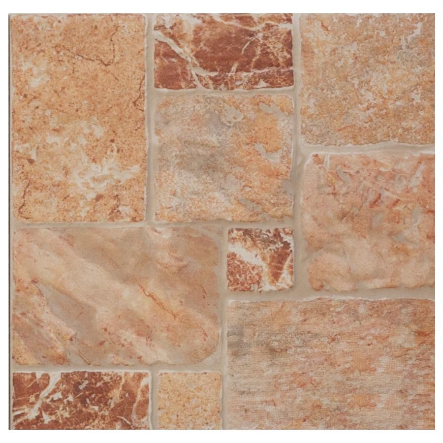 FLOORS 2000 11-Pack 13-in x 13-in Billuna Cotto Glazed Porcelain Floor Tile (Actuals 13-in x 13-in)