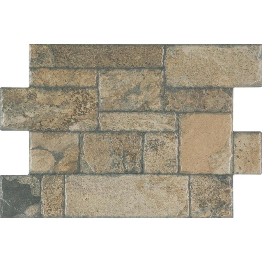 Shop floors 2000 fiyord 6 pack olive porcelain floor tile for 16 floor tile