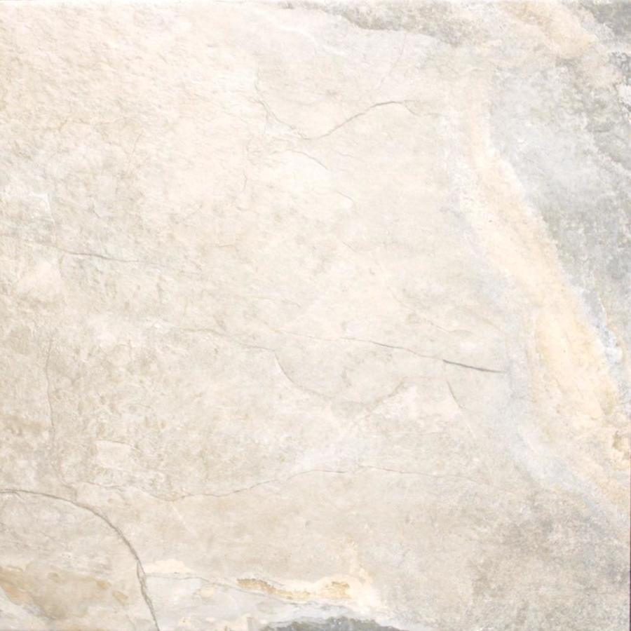 FLOORS 2000 Keystone 7-Pack Cream Porcelain Floor and Wall Tile (Common: 18-in x 18-in; Actual: 17.73-in x 17.73-in)
