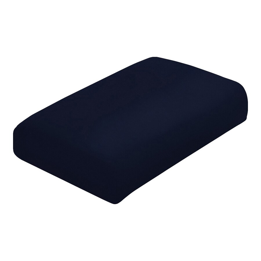 allen + roth Navy Cushion for Ottoman
