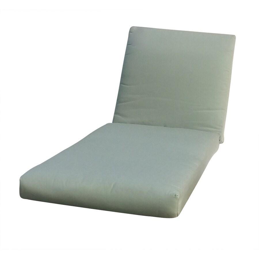 allen + roth Sunbrella Canvas Spa Patio Chaise Lounge Cushion
