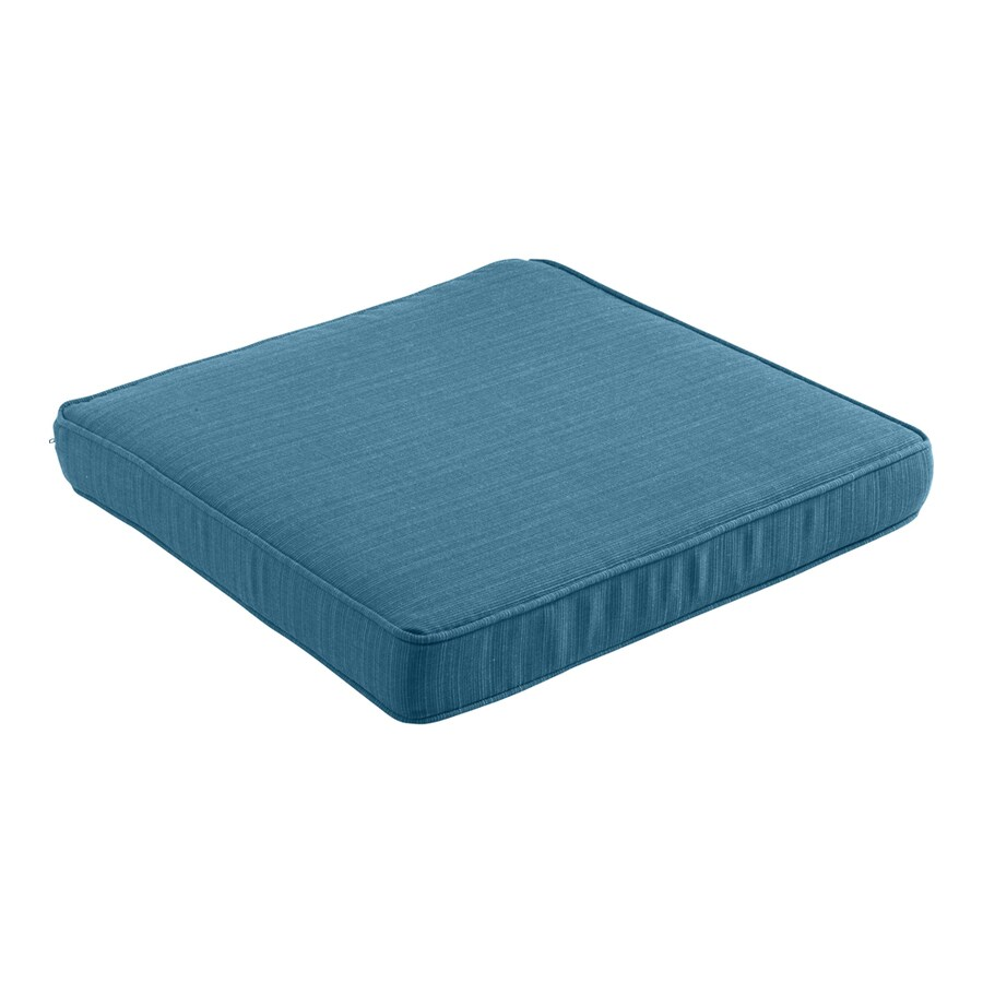 allen + roth Sunbrella Deep Sea Solid Cushion For Universal