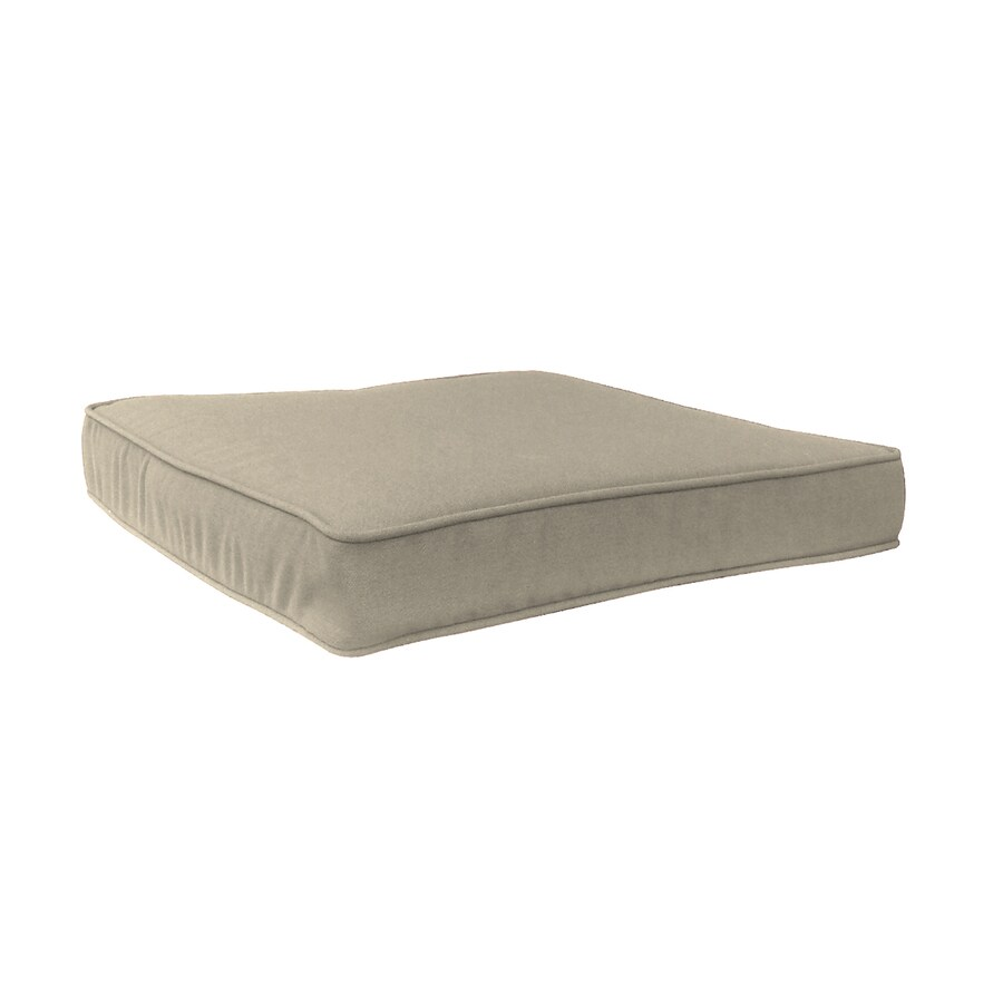 allen + roth Sunbrella Spectrum Sand Solid Cushion For Universal