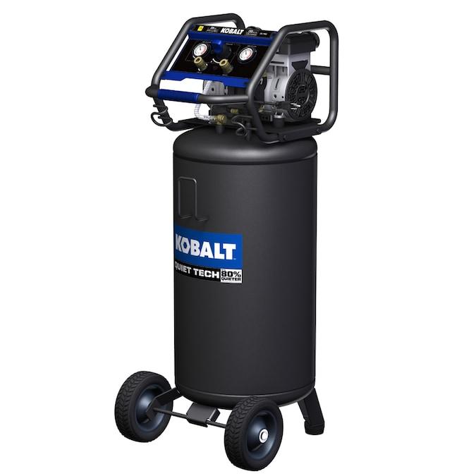 Kobalt QUIET TECH 26-Gallon Single Stage Portable Electric Vertical Air Compressor