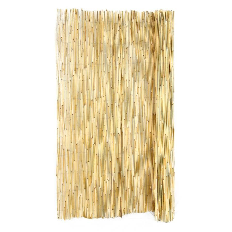 Backyard X-Scapes 0.125-in dia x 6-ft H x 15-ft L Natural Rolled Bamboo Fencing