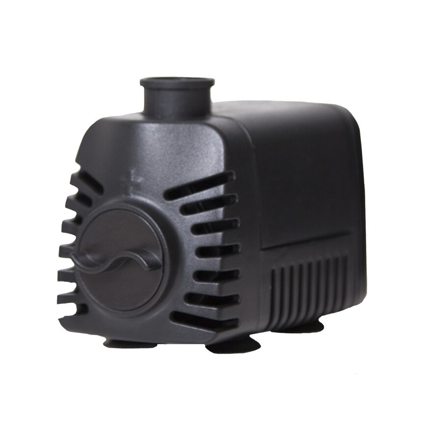 Shop smartpond 155 gph submersible fountain pump at for Pond pump filter fountain