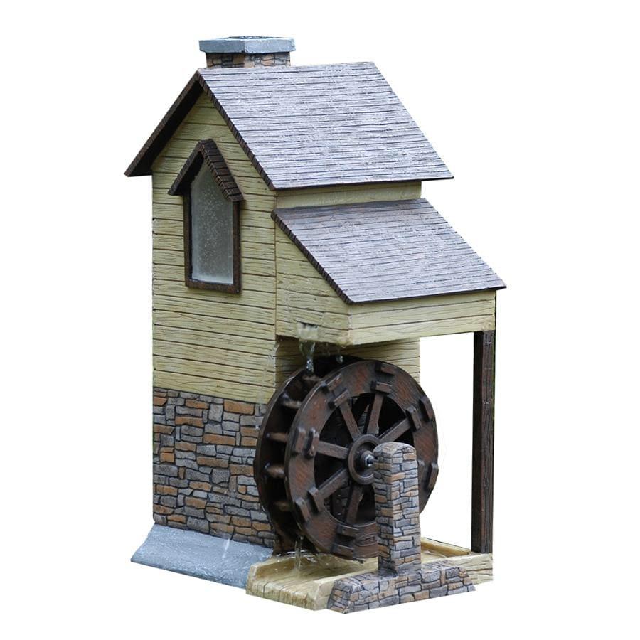 smartpond Water Garden Grist Mill Solar Spitter