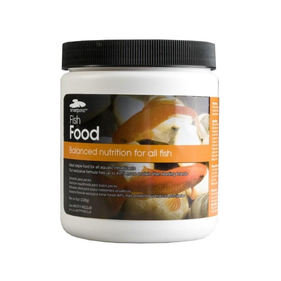 smartpond Regular Fish Food-8-oz Water Garden