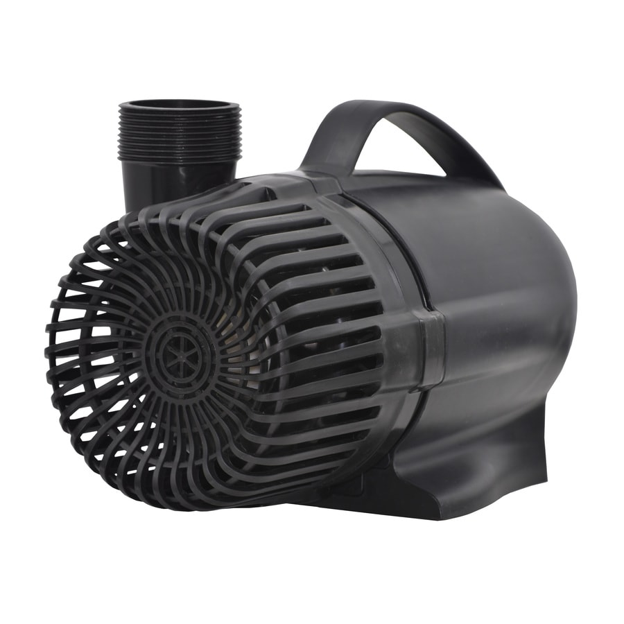 Shop smartpond submersible waterfall pump at for Submersible pond pump and filter