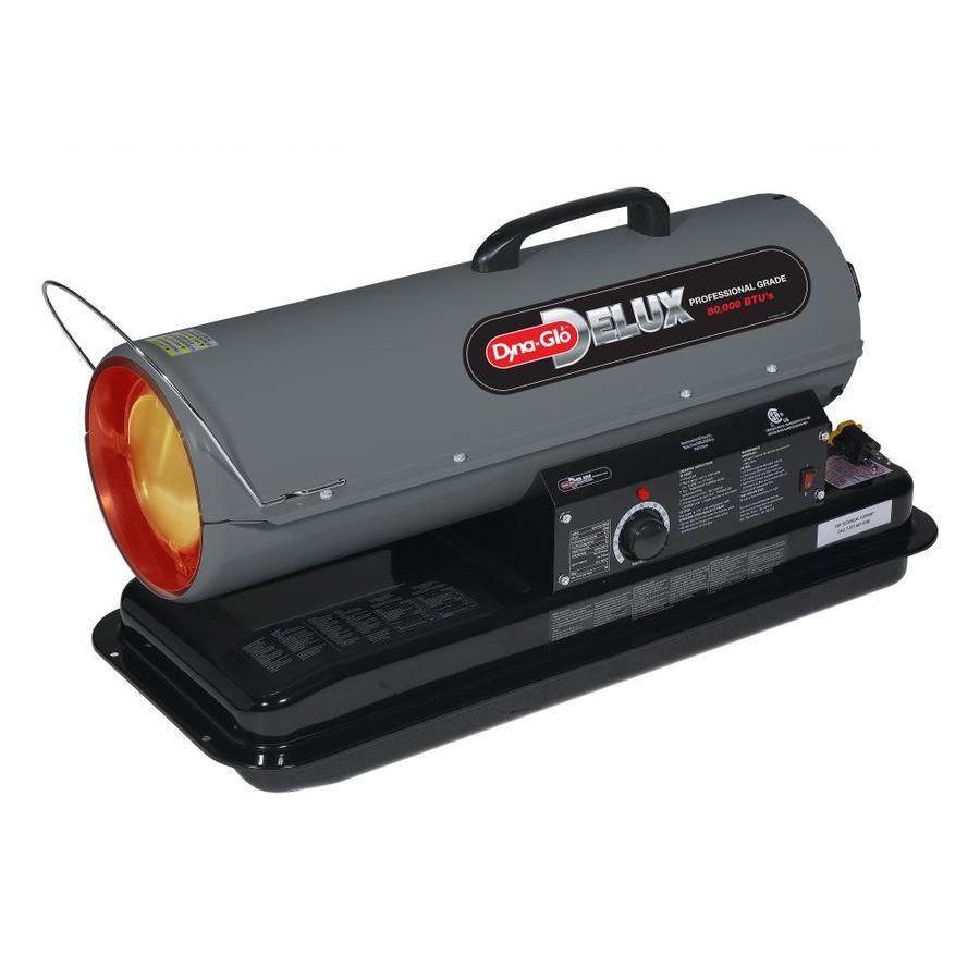 Shop dyna glo delux 80 000 btu portable kerosene heater at - Small portable space heater paint ...