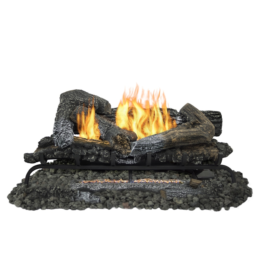shop pleasant hearth 30 in 33 000 btu dual burner vent