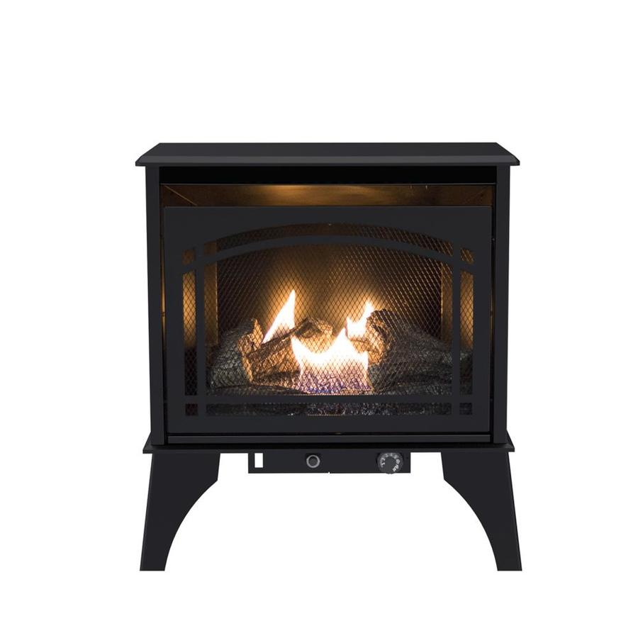 Pleasant Hearth 700-sq ft Dual-Burner Vent-Free Natural Gas or Liquid Propane Gas Stove (Sold Separately)