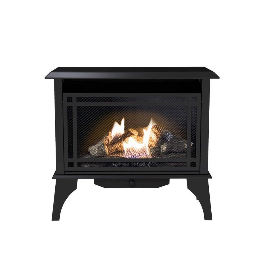 Pleasant Hearth 1,000-sq ft Dual-Burner Vent-Free Liquid Propane and Natural Gas Stove