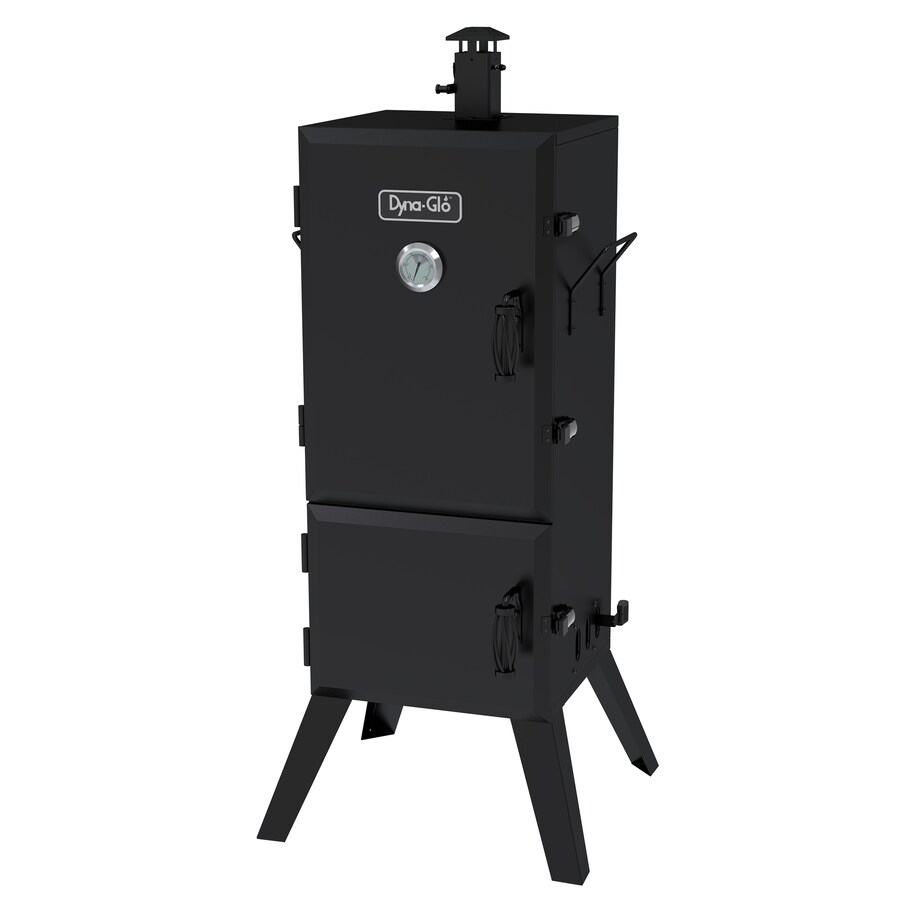 Dyna-Glo 49.73-in H x 21.45-in W 784-sq in Charcoal Vertical Smoker