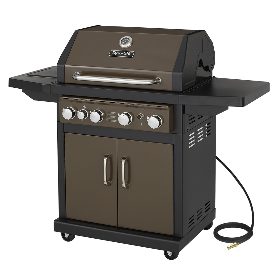 Gas Grill Natural Side Burner