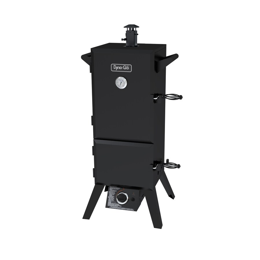 Dyna-Glo 20-lb Cylinder Electronic Ignition Gas Vertical Smoker (Common: 45-in; Actual: 49.73-in)
