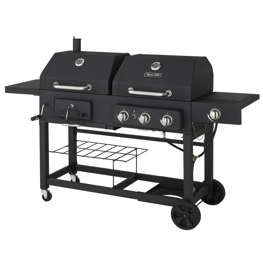Dyna-Glo Black Combo Grill
