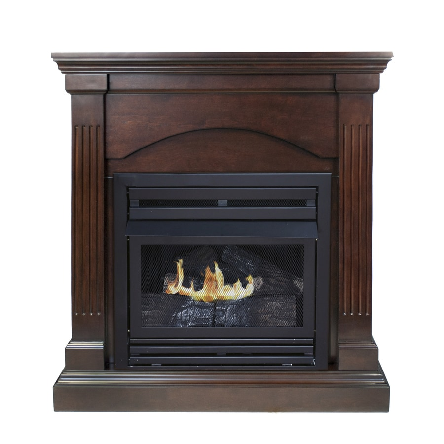 Shop Pleasant Hearth Dual Burner Vent Free Tobacco Corner Liquid Propane Or Natural Gas
