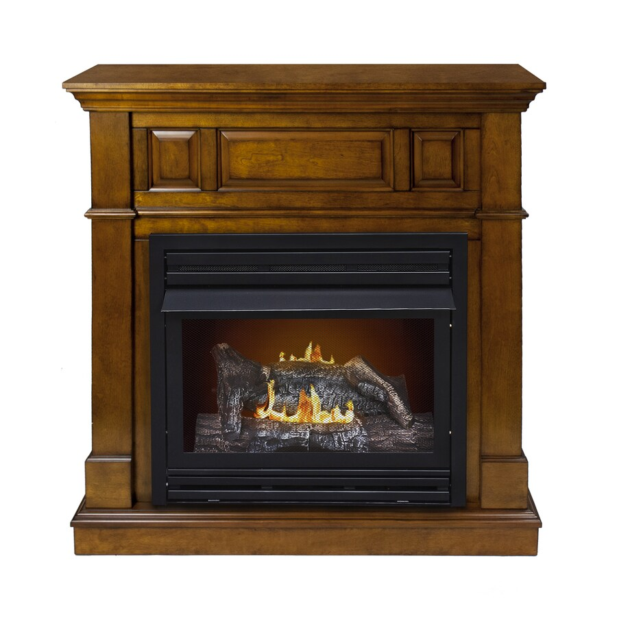 Shop Pleasant Hearth 42 In Dual Burner Vent Free Heritage