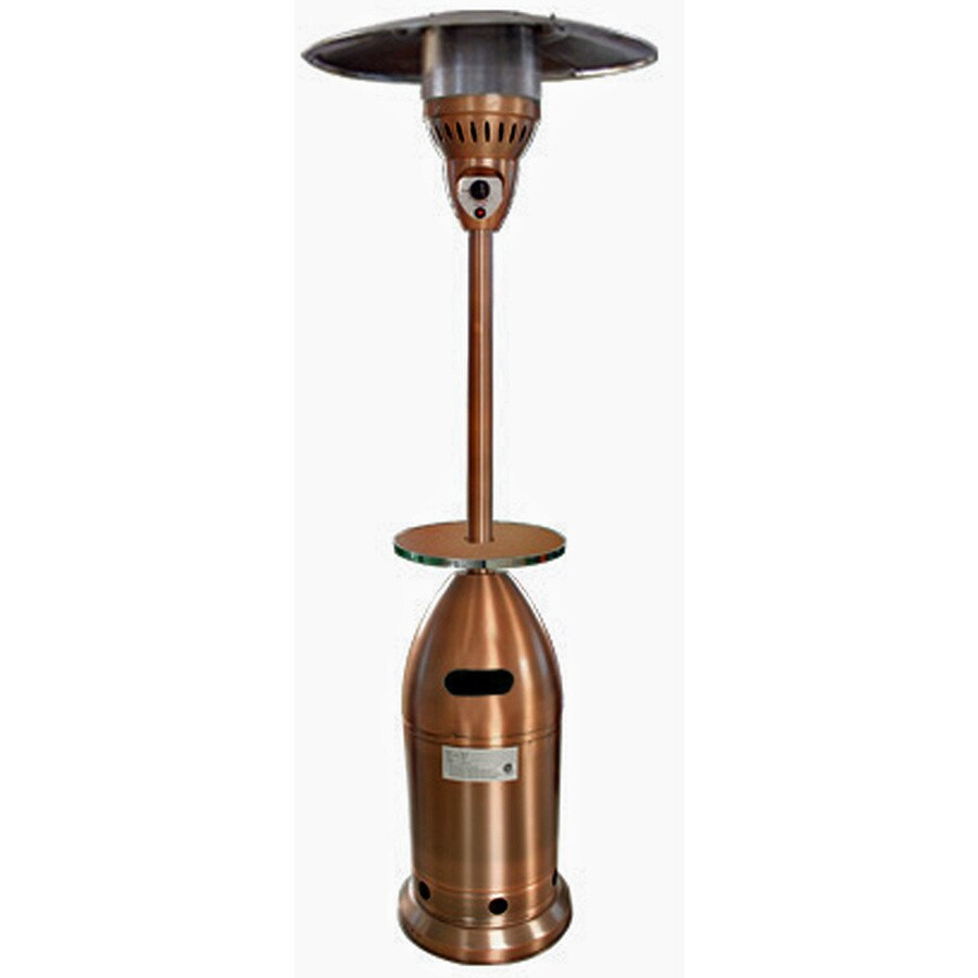 Garden Treasures 41,000-BTU Copper Steel Liquid Propane Patio Heater