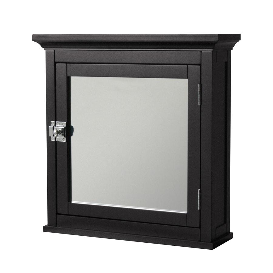 Elegant Home Fashions 18-3/4-in Dark Surface Mount Medicine Cabinet
