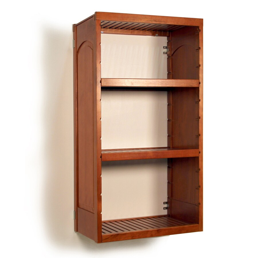 Shop John Louis Home 51 In Carmel Wood Closet Tower At Lowes Com
