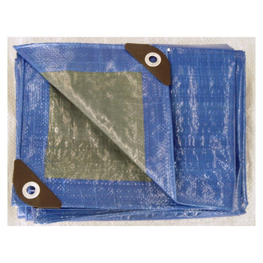 Blue Hawk 12-ft x 16-ft Plastic Tarp