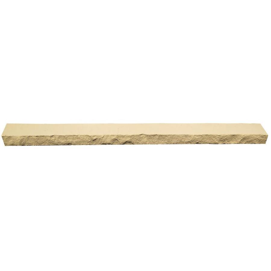 NextStone Sandstone 4-Pack 4-in x 48-in Buff Ledge Stone Veneer Trim