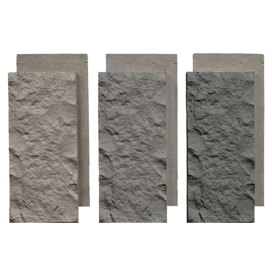 NextStone Sandstone 3-Pack 7-in x 15.5-in Tri Gray KeyStone Veneer Trim