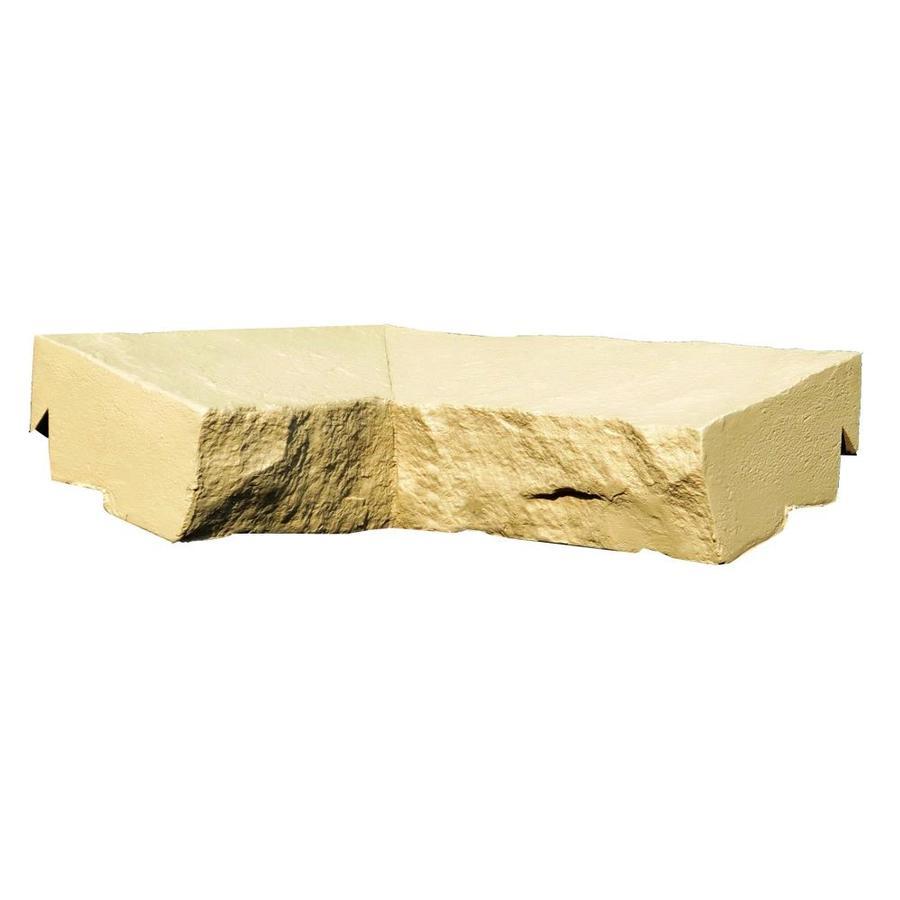 NextStone Sandstone 2-Pack 2.5-in x 9.75-in Buff Ledge Corner Stone Veneer Trim