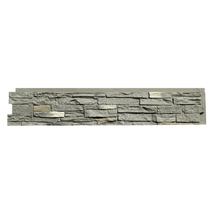 NextStone Slatestone 17.12-sq ft Rundle Ridge Faux Stone Veneer