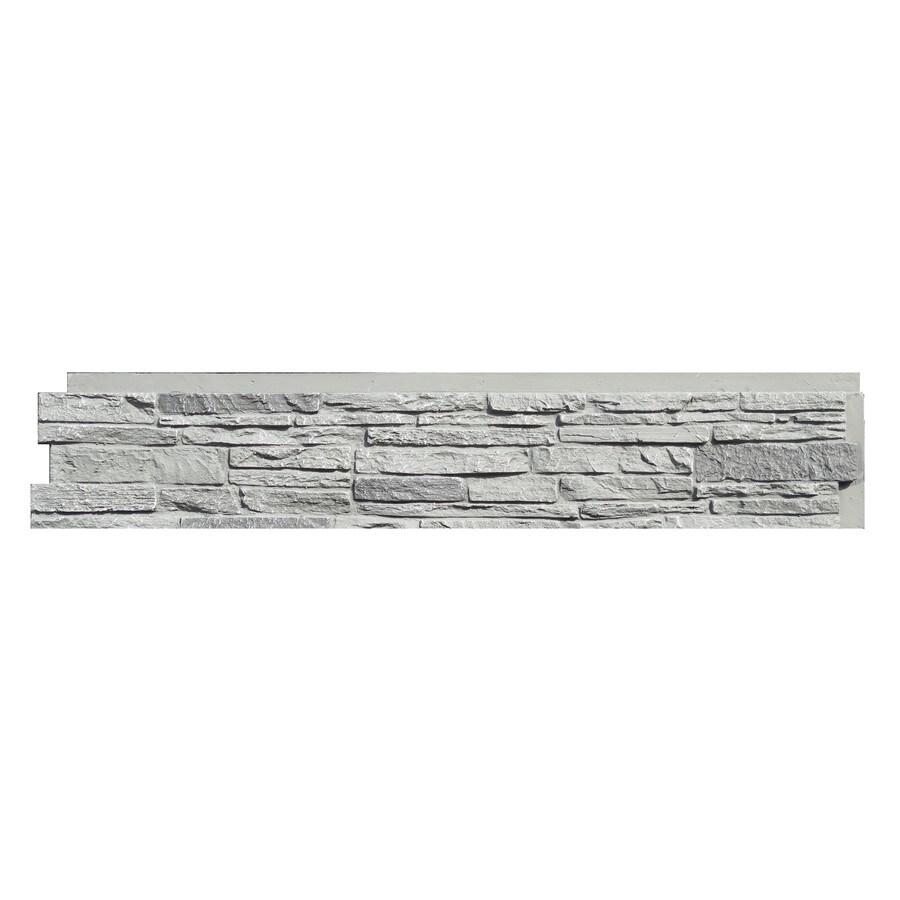 NextStone Slatestone 17.12-sq ft Rocky Mountain Graphite Faux Stone Veneer