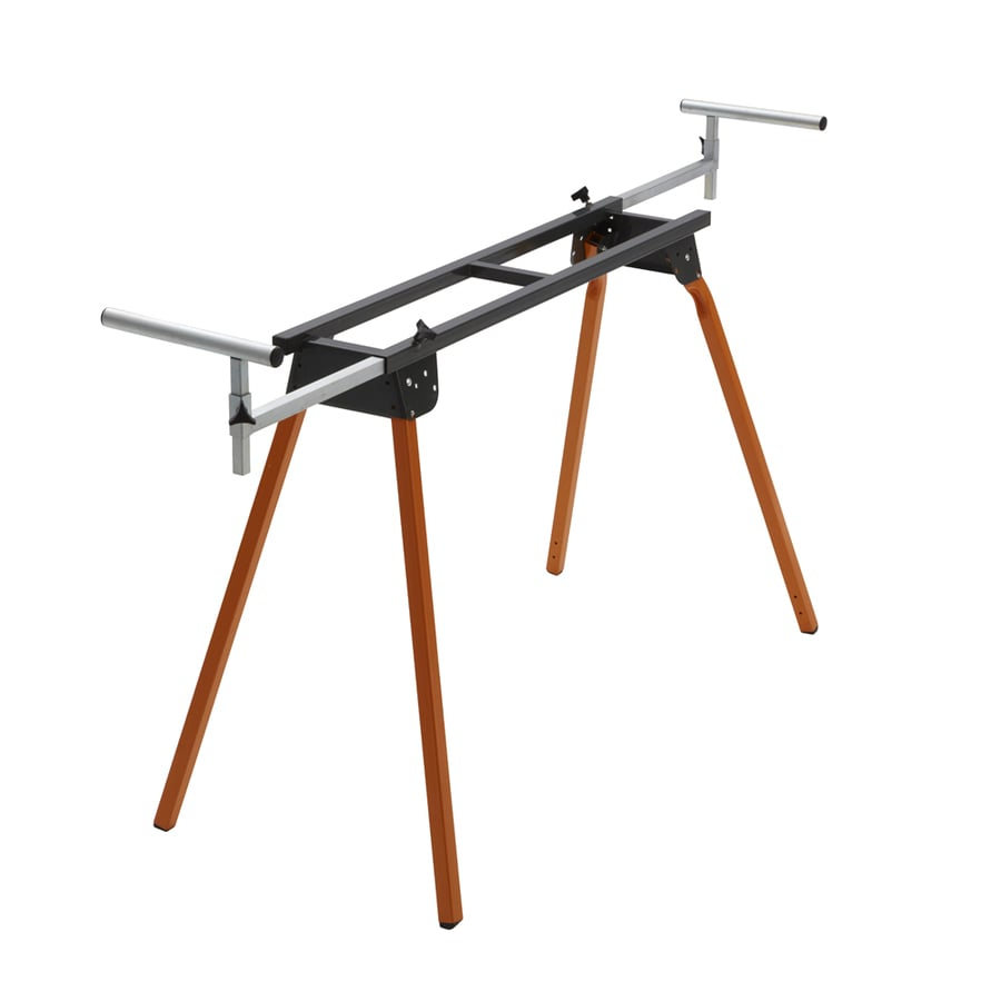 Shop portamate steel table saw stand at for 10 inch table saw lowes