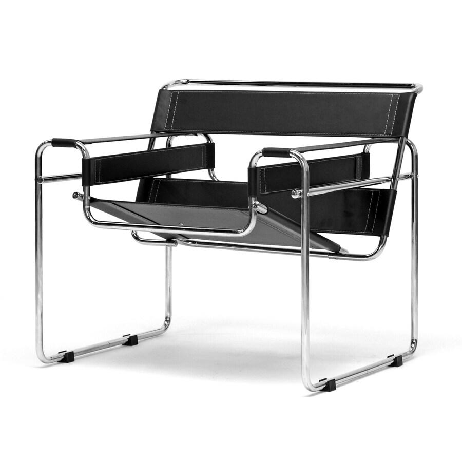 Baxton Studio Baxton Black Accent Chair
